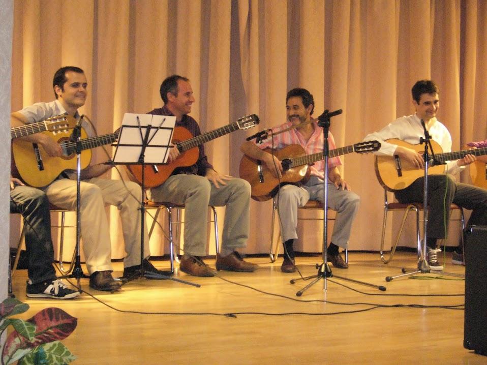 Actuación de los alumnos de guitarra