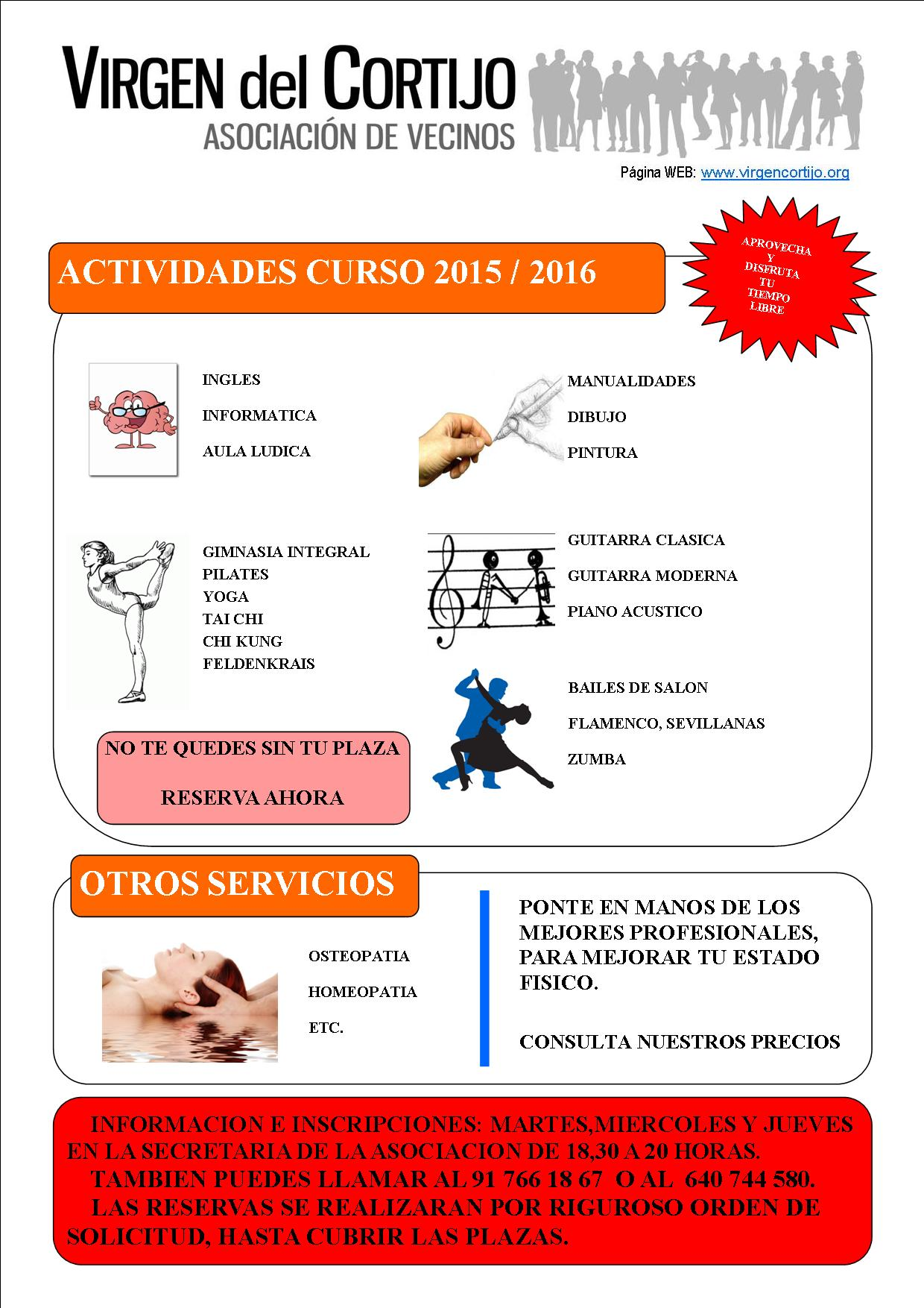 CARTEL ACTIVIDADES 2015-16